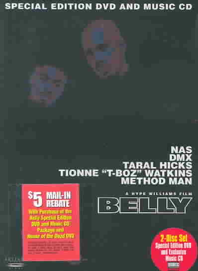 BELLY SPECIAL EDITION BY DMX (DVD)